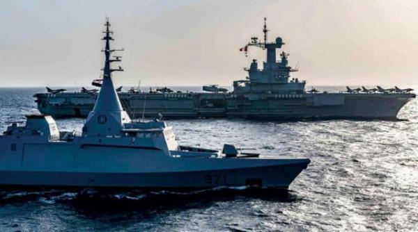 دومین رزمایش دریایی مصر و فرانسه در دریای سرخ