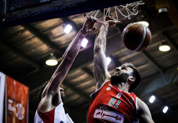 لیگ برتر بسکتبال، صعود مهرام به مرحله دوم پلی آف