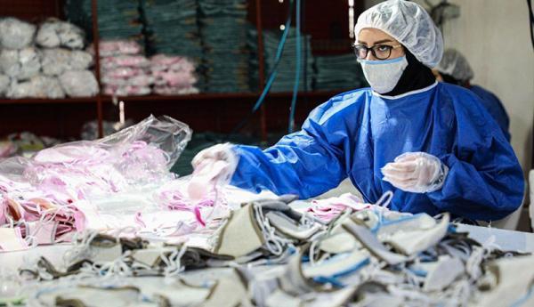 افزایش بیش از چندصد برابری تولید محصولات ضدکرونا