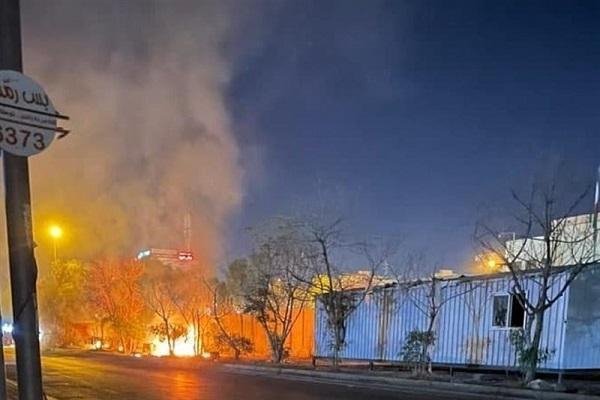 به کنسولگری ایران در کربلا هیچ خسارتی وارد نشده است