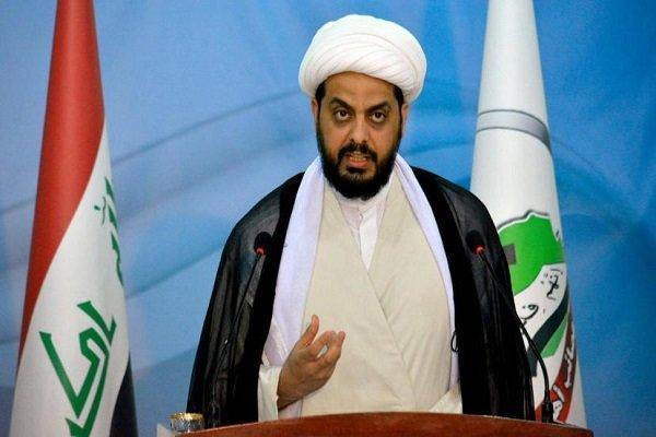موضع گیری دبیر کل جنبش عصائب اهل الحق عراق درباره حشد شعبی