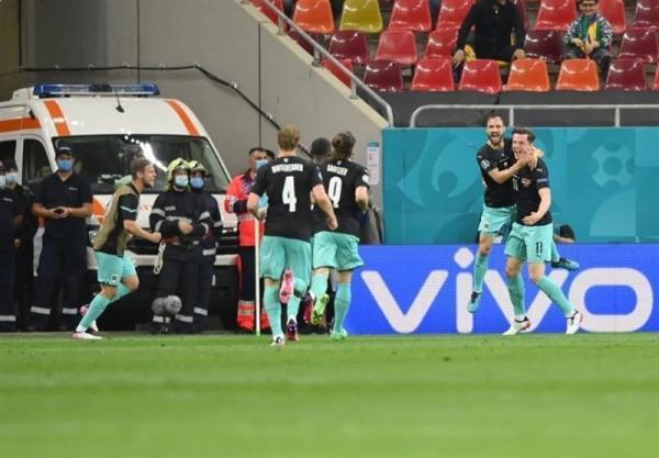 یورو 2020، ثبت اولین پیروزی تاریخ اتریش در جام ملت ها با غلبه بر مقدونیه