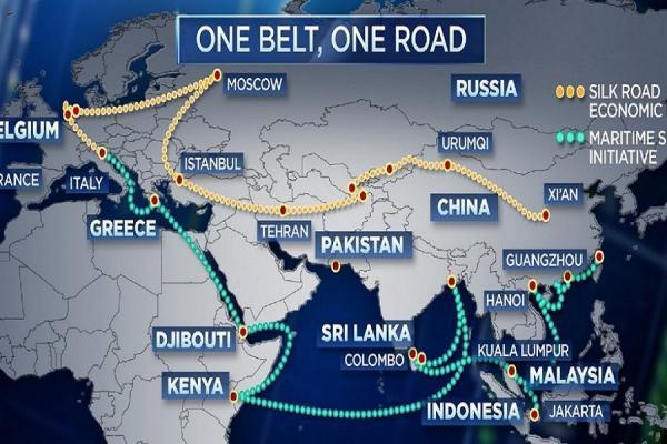 عبور سرمایه گذاری چین از 130 میلیارد دلار در جاده ابریشم نو