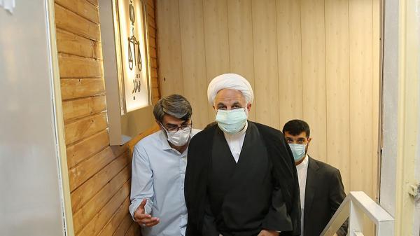 بازدید محسنی اژه ای از بند های امنیتی زندان اوین