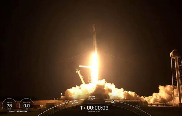 نخستین مأموریت فضایی تمام شهروندی تاریخ راهی مدار زمین شد